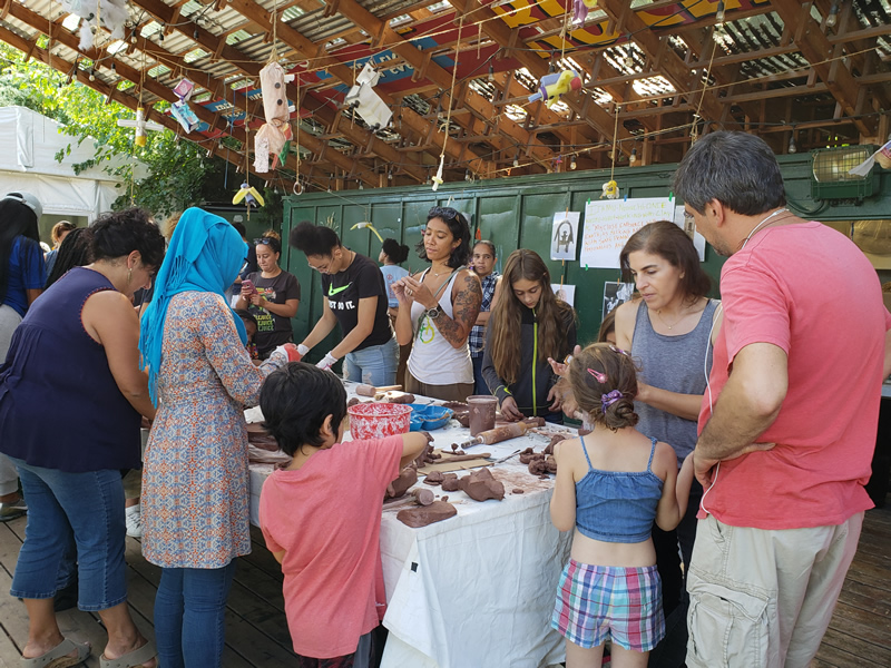 Saturday Sculpture Workshop at Socrates