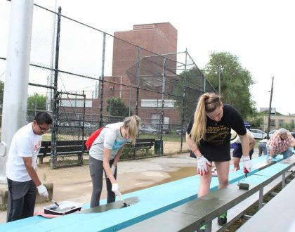 Whitey Ford Park Clean up