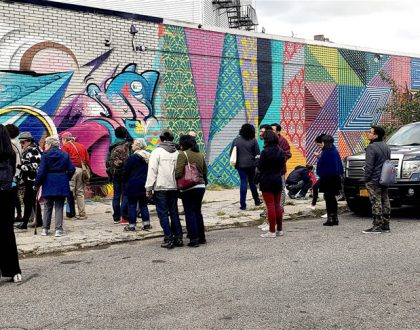 Welling Court Mural Project 2018