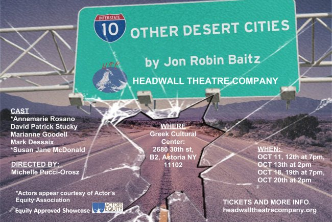 Other Desert Cities flyers