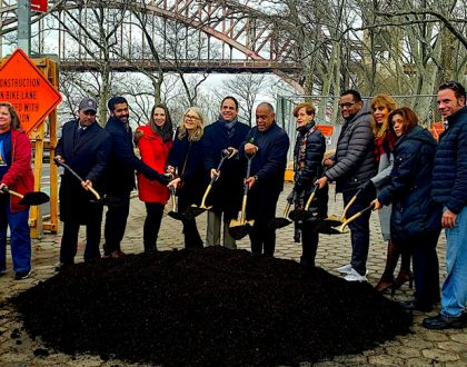 Groundbreaking Ceremony for Charybdis Playground Renovation