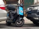 Moped parking