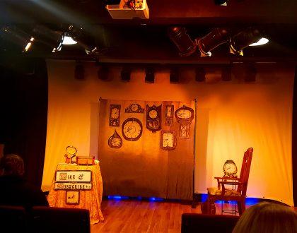 Stage set for Life Hacks With Miss Havisham