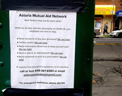 Astoria Mutual Aid Network