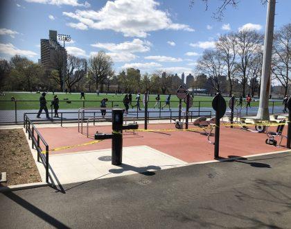 Social Distancing Astoria Park