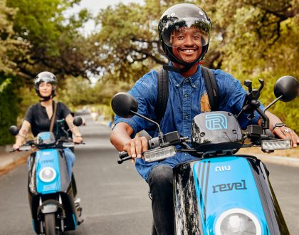 Revel Moped
