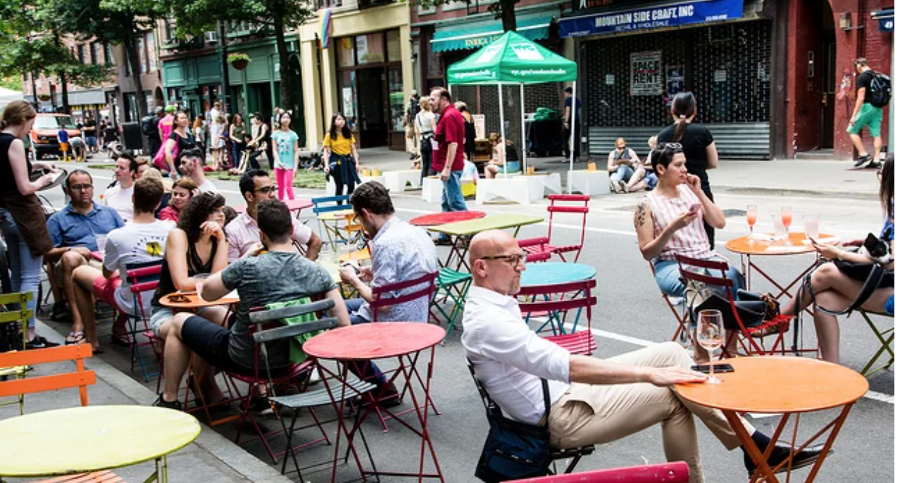 OANA Open Restaurants Open Streets Initiative