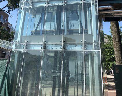 Elevators Open at the Astoria Bvd Station
