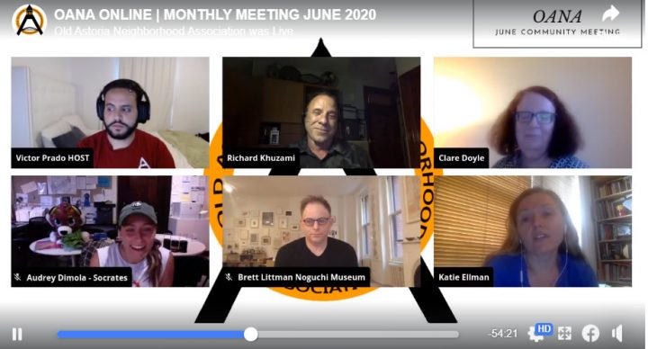OANA June 2020 LIvestream Meeting Summary
