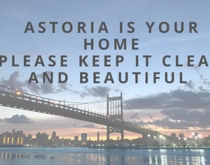 Astoria Calls Community to Cleanup
