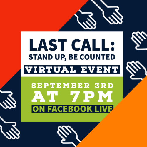 Stand Up and Be Counted: A Virtual Census Event