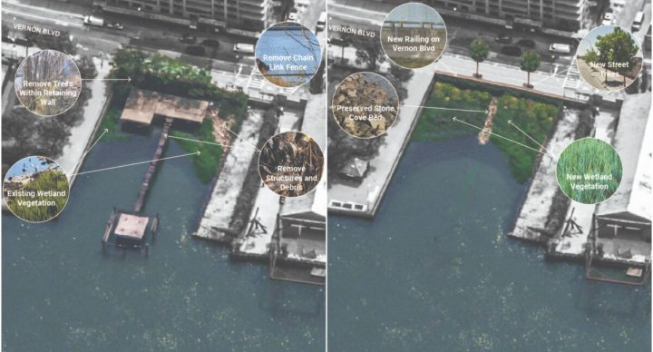 Hallets Cove Waterfront Revitalization