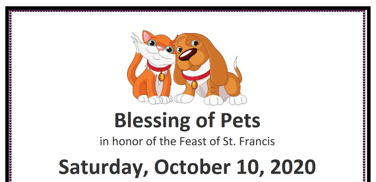 Blessing of Pets Service at St. George's Episcopal Church