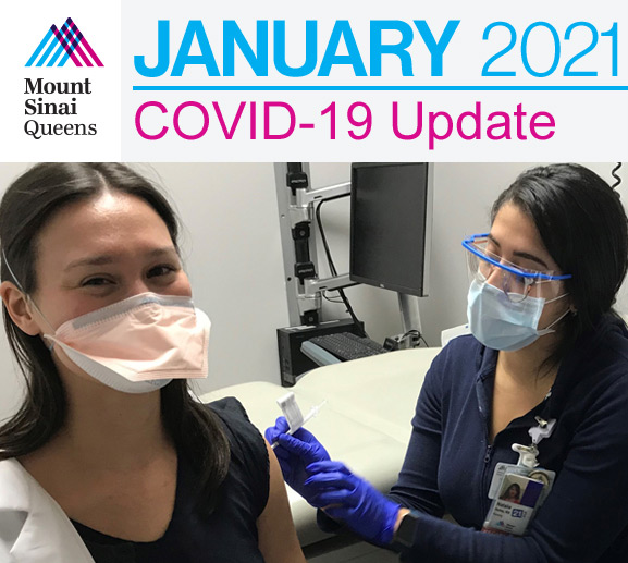 Mount Sinai Queens Covid19 Update