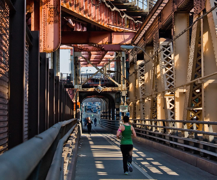 Ed Koch Queensboro Bridge Gets A New Bike and Pedestrian Lane