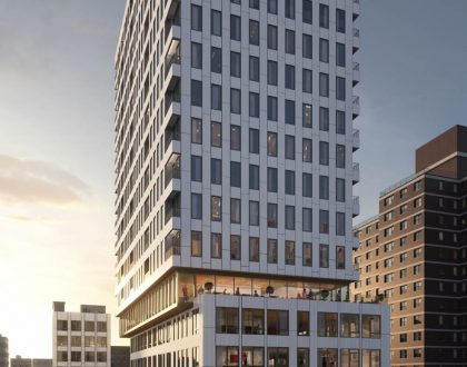 A New 18th Story Building On Hallets Peninsula