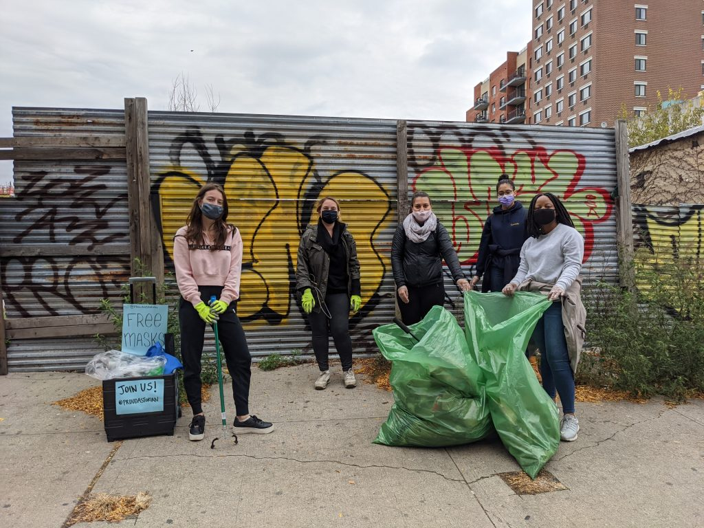 Old Astoria Clean Up with Proud Astorian