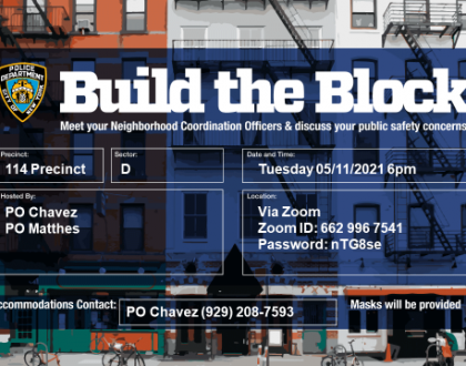 BUILD THE BLOCK REMINDER