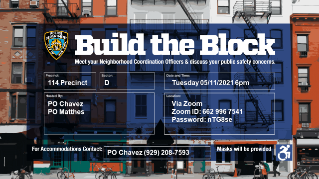 BUILD THE BLOCK REMINDER