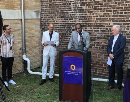 Queens Public Library Time Capsule