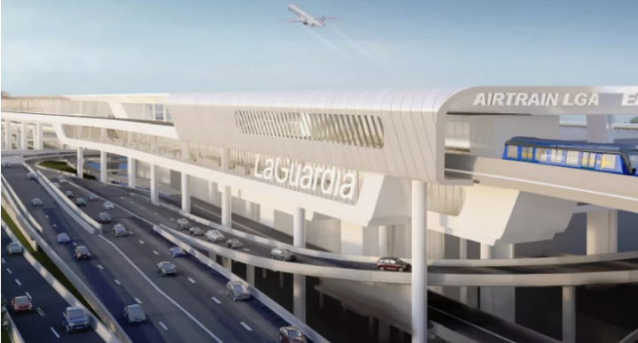 The Proposed AirTrain to Lga Airport