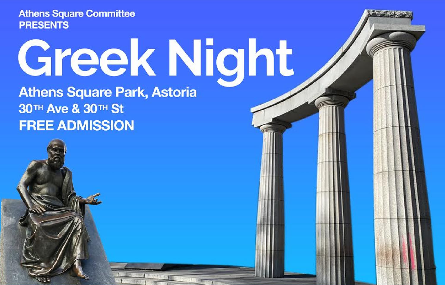 Greek Night In Athens Square Park Every Tuesday