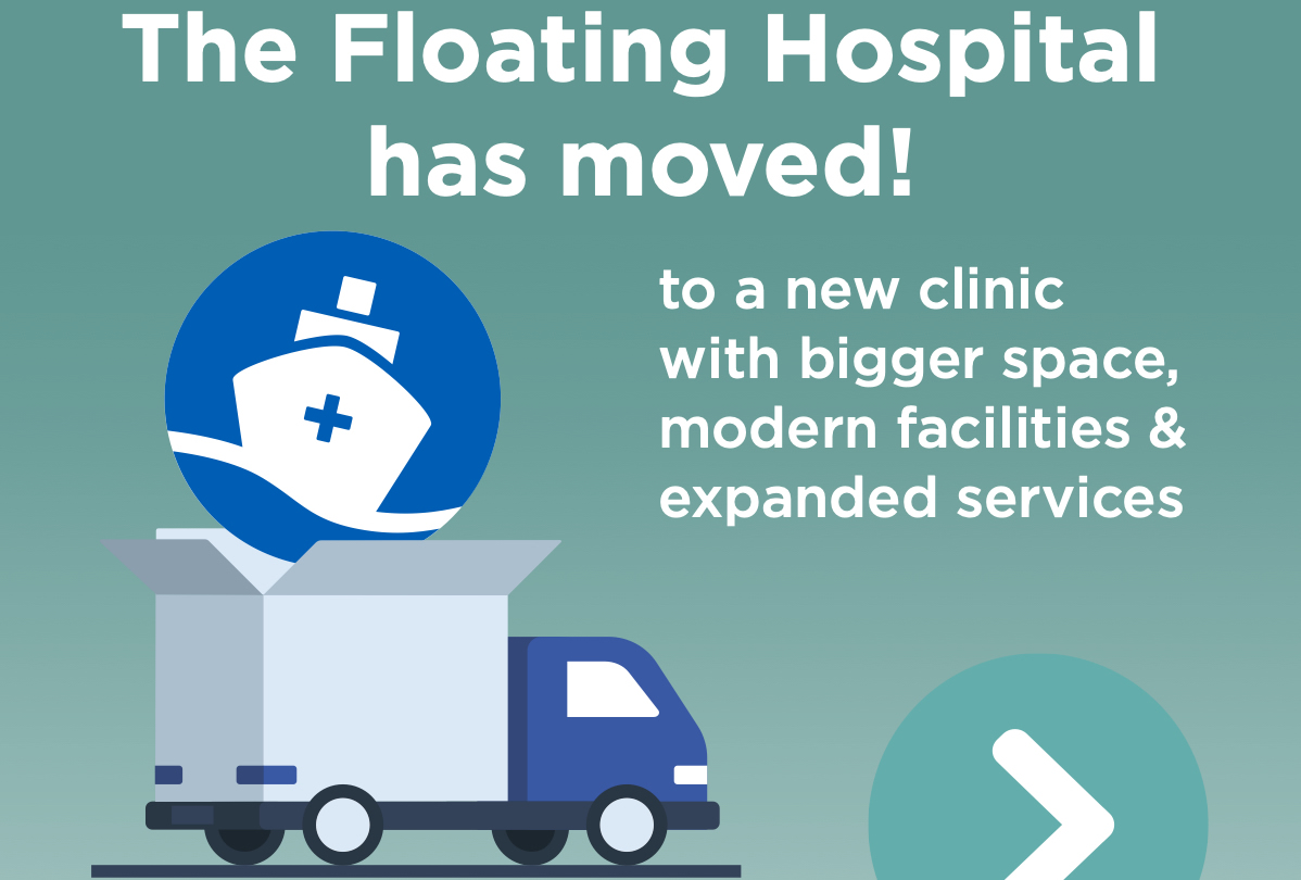 New Floating Hospital Location