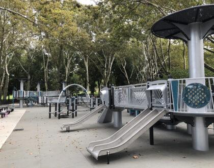 Astoria Park's Charybdis Playground Renovations Complete