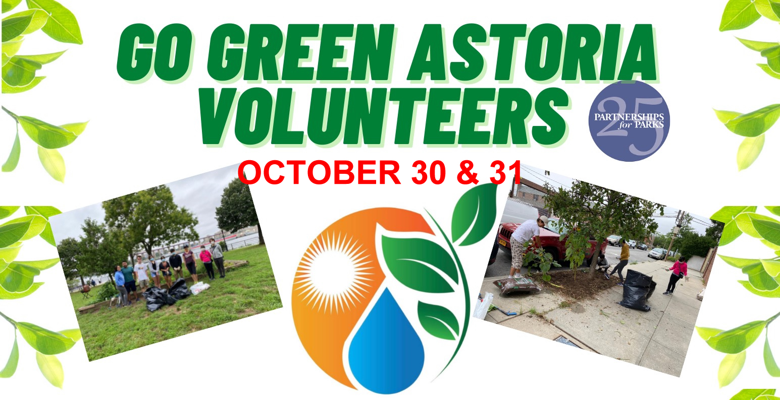 Go Green Astoria  Bulb Planting and Clean-up Event